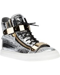Giuseppe Zanotti London Stang Hitop Sneaker - Lyst