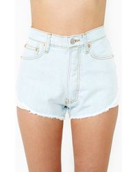 Nasty Gal Proud To Be Free Cut Off Shorts - Lyst