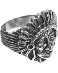 Laura Lee - Reclaimed Vintage Tribe Indian Crown Ring - Lyst