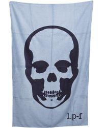 Lucien Pellat Finet - Skull Beach Towel - Lyst