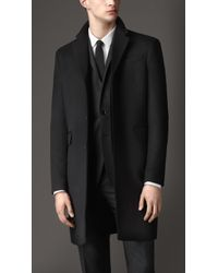 Burberry Wool Cashmere Topcoat - Lyst