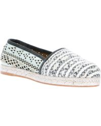 Cobra Society Gray Molly Espadrille - Lyst