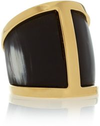 Maiyet - Butterfly Goldplated Horn Ring - Lyst
