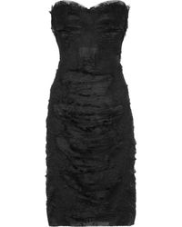Dolce & Gabbana Lace and Tulle Dress - Lyst