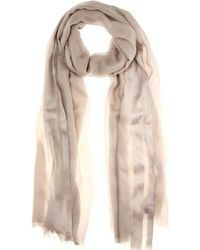 Loro Piana Shadow Soffio Cashmere And Silk-Blend Scarf - Lyst