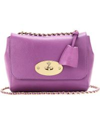 Mulberry Lily Grainy Leather Shoulder Bag - Lyst