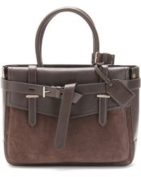 Reed Krakoff - Boxer Leather Suede Trimmed Tote - Lyst