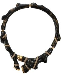 Kara Ross - Organic Coral Resin Collar Necklace - Lyst
