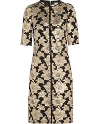 Marni Brocade Dress - Lyst