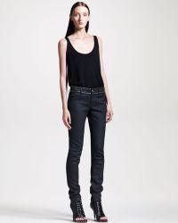 Givenchy Zip Trim Skinny Jeans - Lyst
