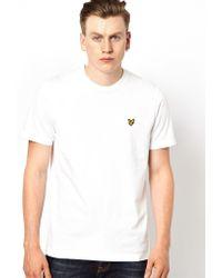 Lyle & Scott T-Shirt With Eagle Logo - Lyst