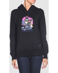 Emily The Strange - Hooded Sweatshirt - Lyst
