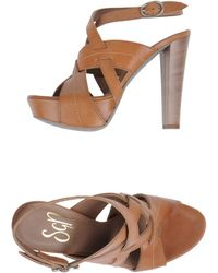 Sgn Giancarlo Paoli Platform Sandals - Lyst