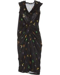 McQ by Alexander McQueen Kneelength Dress - Lyst