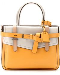 Reed Krakoff Boxer Colourblock Leather Tote - Lyst