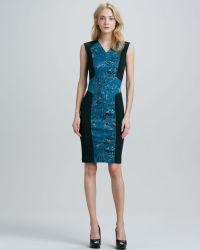 Robert Rodriguez Pixelprint Techno Dress - Lyst