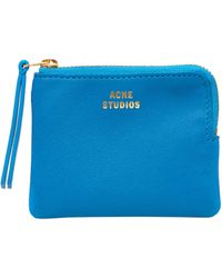 Acne Studios - Zipped Leather Wallet - Lyst