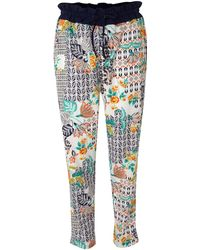 Linea Weekend - Folk Print Trousers - Lyst