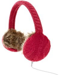 Therapy Plain Cable Knit Headphones - Lyst
