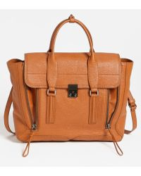 3.1 Phillip Lim | Pashli Shark Embossed Leather Satchel | Lyst