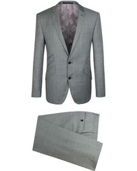 Alexandre Savile Row Checked 2 Piece Suit - Lyst