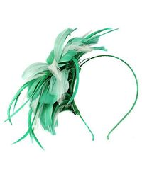 Alexon - Green Feather Explosion Fascinator - Lyst