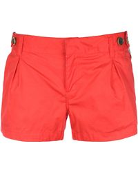 Bench - Womens Prancers Pleated Shorts - Lyst