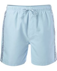 Calvin Klein Logo Tape Swim Short - Lyst