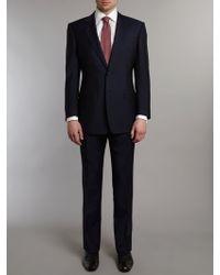 Chester Barrie Plain Classic Suit - Lyst