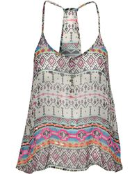 Jane Norman Neon Tribal Print Cami Top multicolor - Lyst