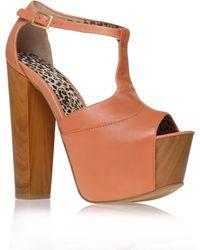 Jessica Simpson Dany Platform Sandals - Lyst