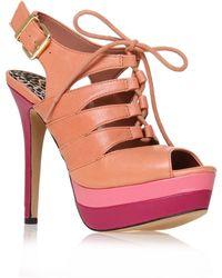 Jessica Simpson Elenor Platform Sandals - Lyst