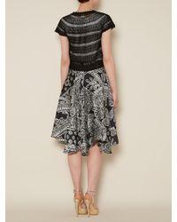 Lauren by Ralph Lauren - Short Sleeve Crochet Bolero - Lyst