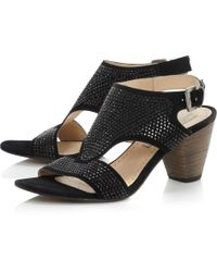 Pied a Terre | Jackinda Studded Heeled Sandals | Lyst