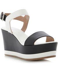 Pied a Terre | Lida Flatform Wedge Sandals | Lyst