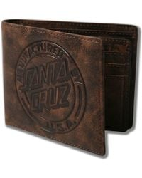 Santa Cruz - Mf Dot Leather Wallet Mens - Lyst