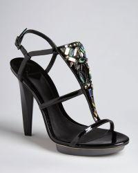 7a0fb608149 B Brian Atwood - Platform Evening Sandals Donosa High Heel - Lyst