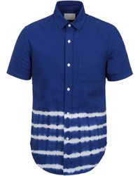 Band of Outsiders Short Sleeve Shirt - Lyst