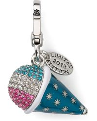 Juicy Couture - Pave Snowcone Charm Limited Edition - Lyst