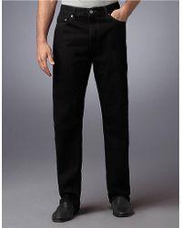 Levi's Black Regular-Fit 505; Jeans - Smart Value - Lyst