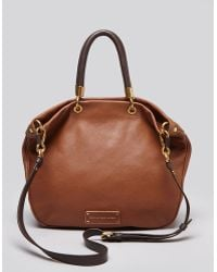 Marc By Marc Jacobs Satchel Too Hot To Handle Contrast Mini Shopper - Lyst