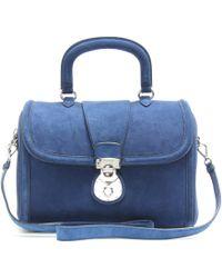 Miu Miu Suede Handbag - Lyst