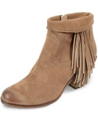 "Sam Edelman ""Louie"" Booties - Lyst"
