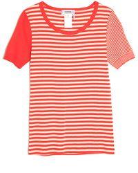 Sonia by Sonia Rykiel Short Sleeve Stripe Tee - Lyst