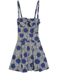 Sonia by Sonia Rykiel - Dotted Bow Dress - Lyst
