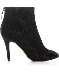 Lucy Choi - Eugenie Lace Ankle Boots - Lyst