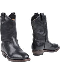 A Trois Ankle Boots - Lyst