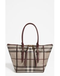 Burberry Salisbury Small Tote - Lyst