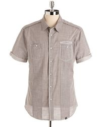 Marc Ecko - Cotton Utility Shirt - Lyst
