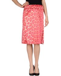Just Cavalli 34 Length Skirt - Lyst